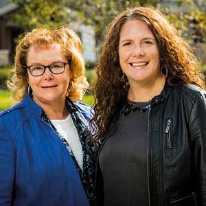 Karen Meyers Holzer, CEO and Karen Vance, Director of Digital & Content Marketing , The Deciding Factor