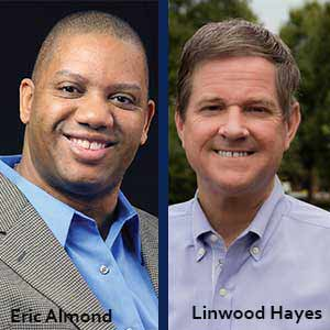 Eric Almond, Systems Analyst and Engineer Leader; Linwood Hayes, CIO, Travel Incorporated