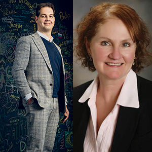 Niels Keuker, Chief Marketing and Sales Officer and Julie Roper, Chief Operating Officer, iptiQ