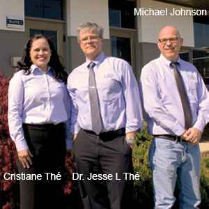 Cristiane Thé, Director-Software Quality, Dr. Jesse L Thé, President & Founder and Michael Johnson, Director-Software Development, Lakes Environmental Software