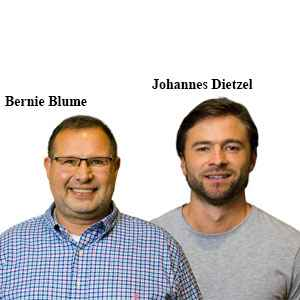 Bernie Blume, Founder and CEO & Johannes Dietzel, Co-Founder and Analyst, antsle