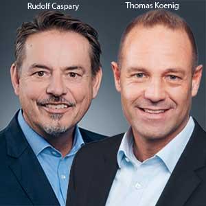 Rudolf Caspary, CIO and Thomas Koenig, Head of Marketing & PR, Molecular Health