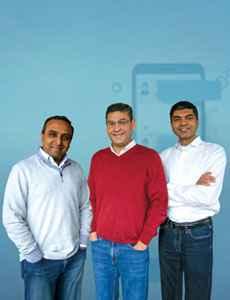 Madhu Mathihalli, Co-Founder and CPO, Ravi N. Raj, Co-Founder and CEO and Mitul Tiwari,  Co-Founder and CTO , Passage AI