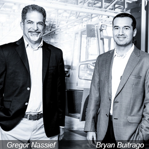 Gregor Nassief, CEO & Bryan Buitrago, General Manager, Cerca Technology
