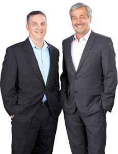 Jason Koenigsberg, Managing Director and Claudio López Silva, CEO, Asignet Technology DNA