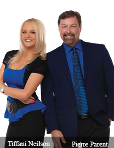 Pierre Parent, CTO and General Manager and Tiffani Neilson, VP of Marketing, GeoTraq