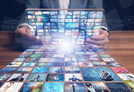 4 Most Popular Enactments of Data in Media and Entertainment Industry