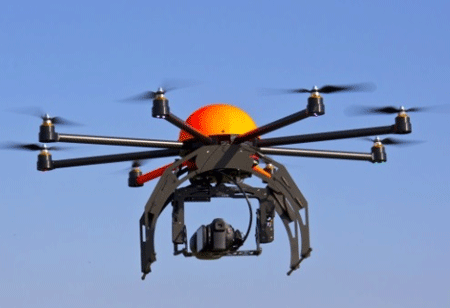Industrial Surveillance Made Easy with Automated Drones