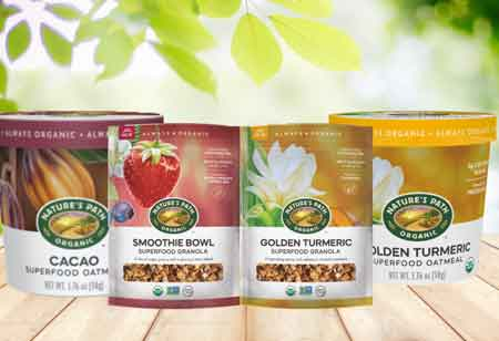 Nature's Path Launches New Line of Superfood Products