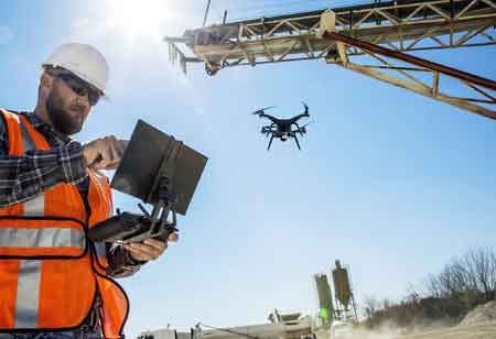 4 Key Applications of Drones in Construction