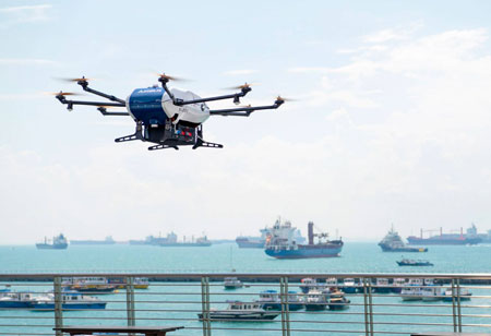 The latest drones are here to change the conventions of parcel delivery systems