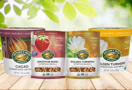 Nature's Path Comes with its latest delicious Superfood Granolas and Oatmeal cups
