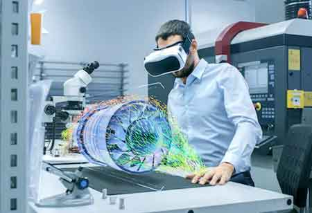 How are AR and VR used for Workforce Training in the Aviation Industry?