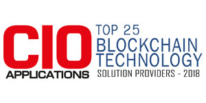 Top 25 Blockchain Technology Solution Providers - 2018