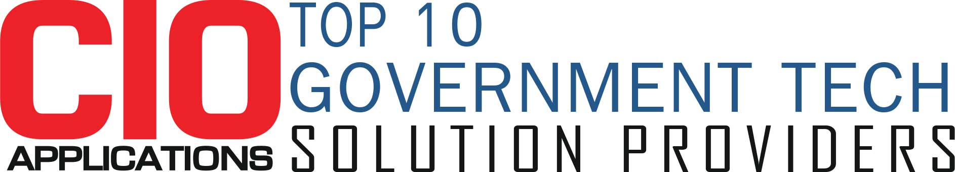 Top 10 Government Tech Solution Companies - 2019