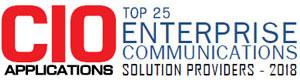 Top 25 Companies Providing Enterprise Communications Solution  - 2018