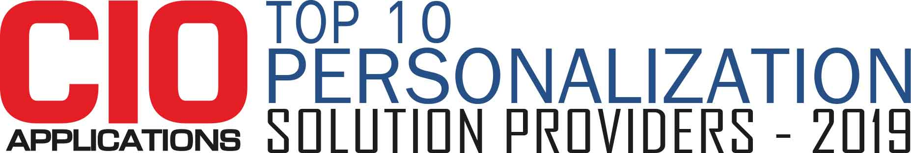 Top 10 Personalization Solution Companies - 2019