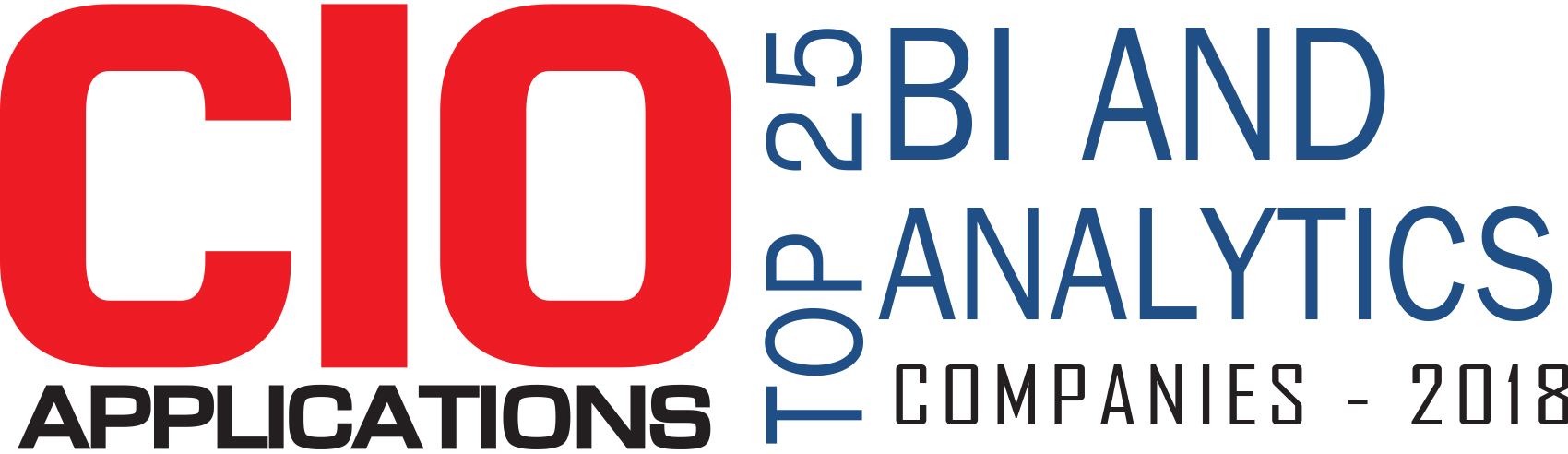 Top 25 BI and Analytics Companies  - 2018