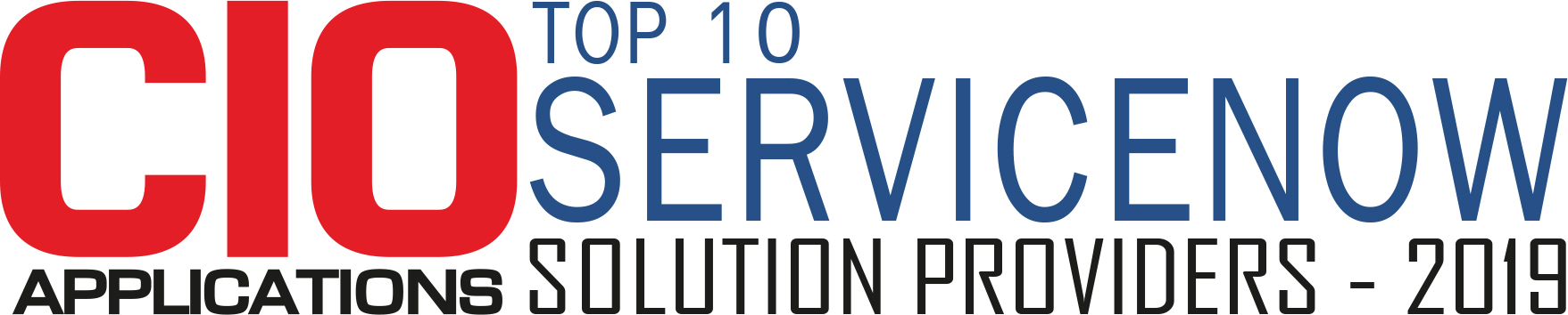 Top 10 ServiceNow Solution Companies - 2019