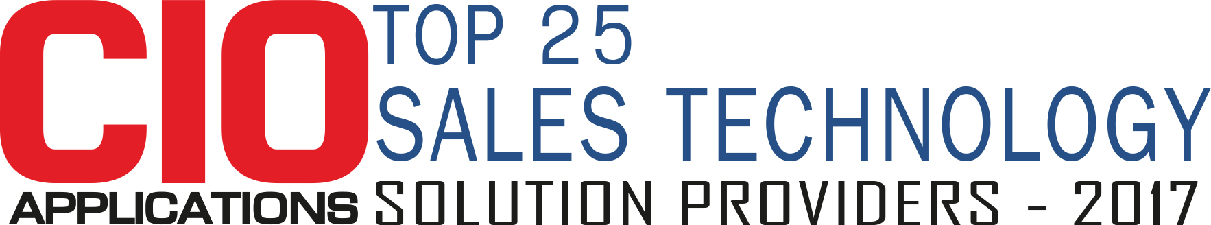 Top 25 Companies Providing Sales Technology Solution - 2017
