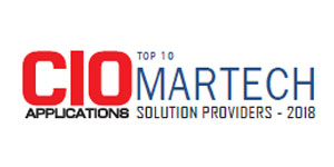 Top 10 MarTech Solution Providers - 2018
