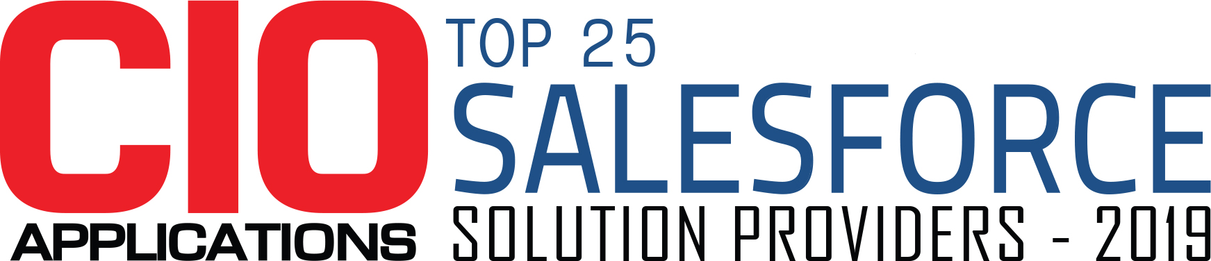 Top 25 Salesforce Solution Companies - 2019