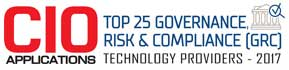 Top 25 Companies Providing Governance, Risk and Compliance (GRC) Technology  - 2017