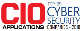 Top 25 Cybersecurity Companies - 2018