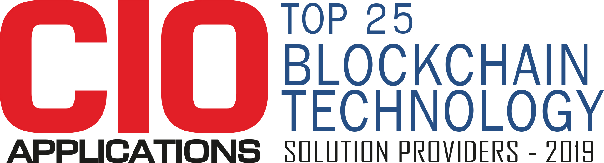 Top 25 Blockchain Technology Solution Companies - 2019
