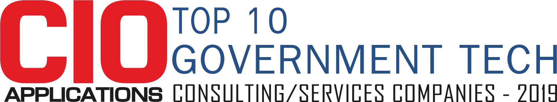 Top 10 Government Tech Consulting/Services Companies - 2019