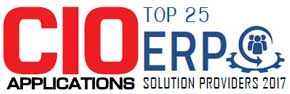 Top 25 Companies Providing ERP Solution  - 2017