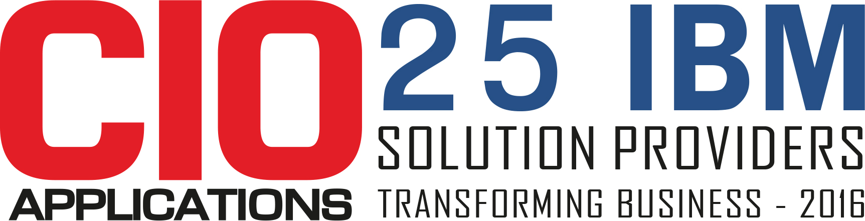 Top 25 IBM Solution Companies Transforming Business - 2016