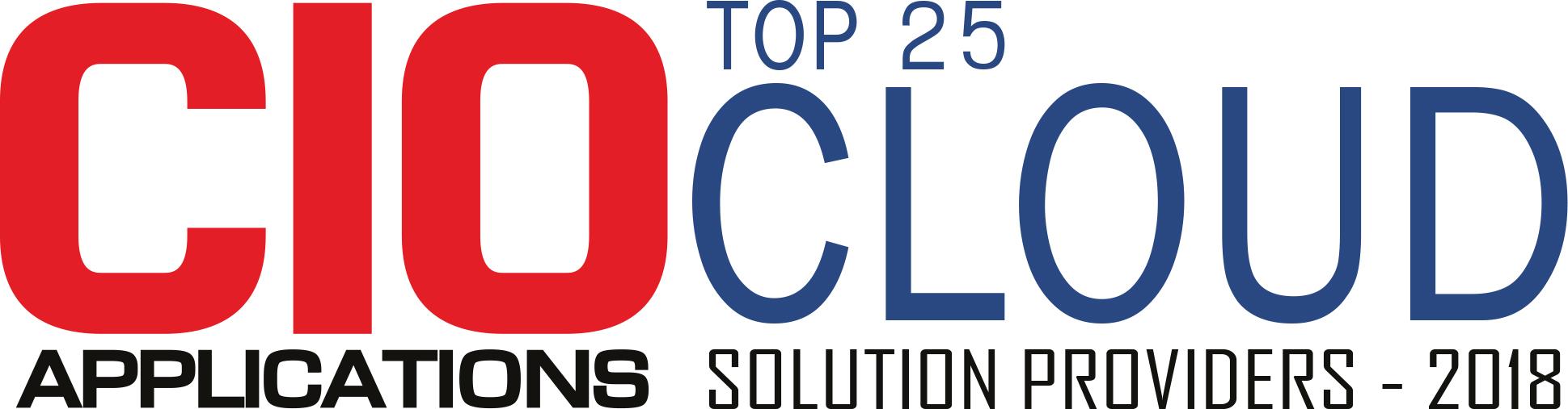 Top 25 Companies Providing Cloud Solution  - 2018