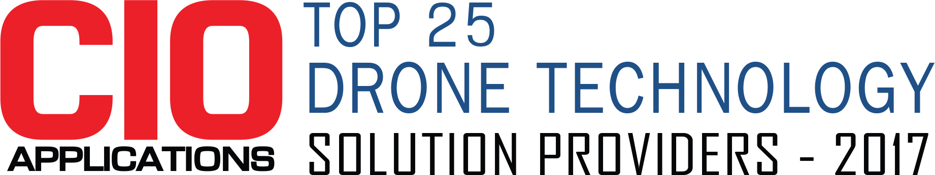 Top 25 Companies Providing Drone Technology Solution  - 2017