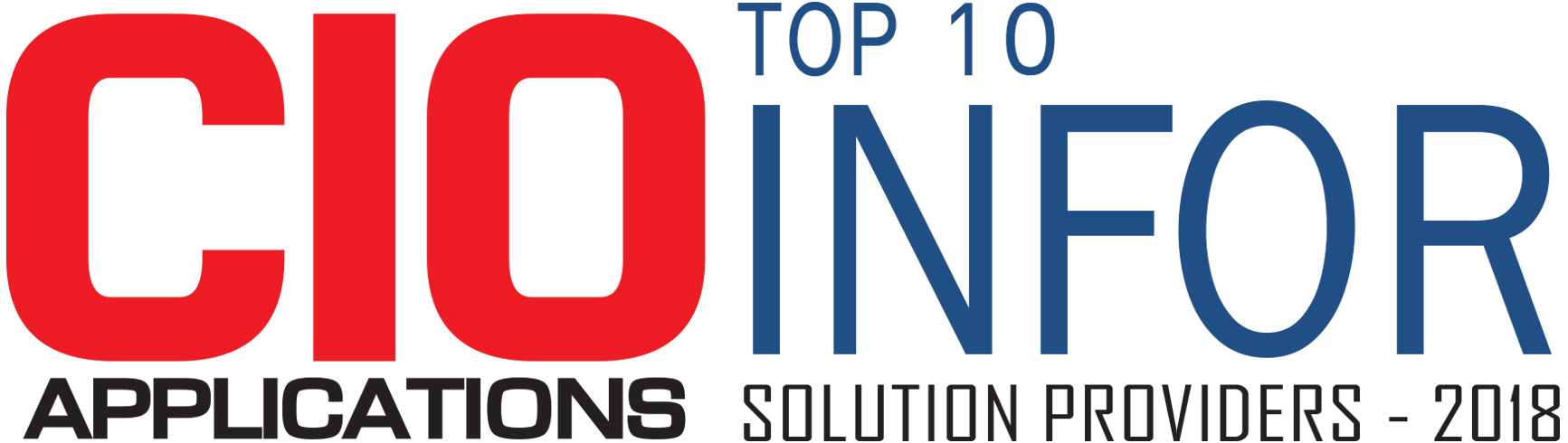 Top 10 Infor Solution Companies - 2018